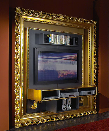 багет на телевизор